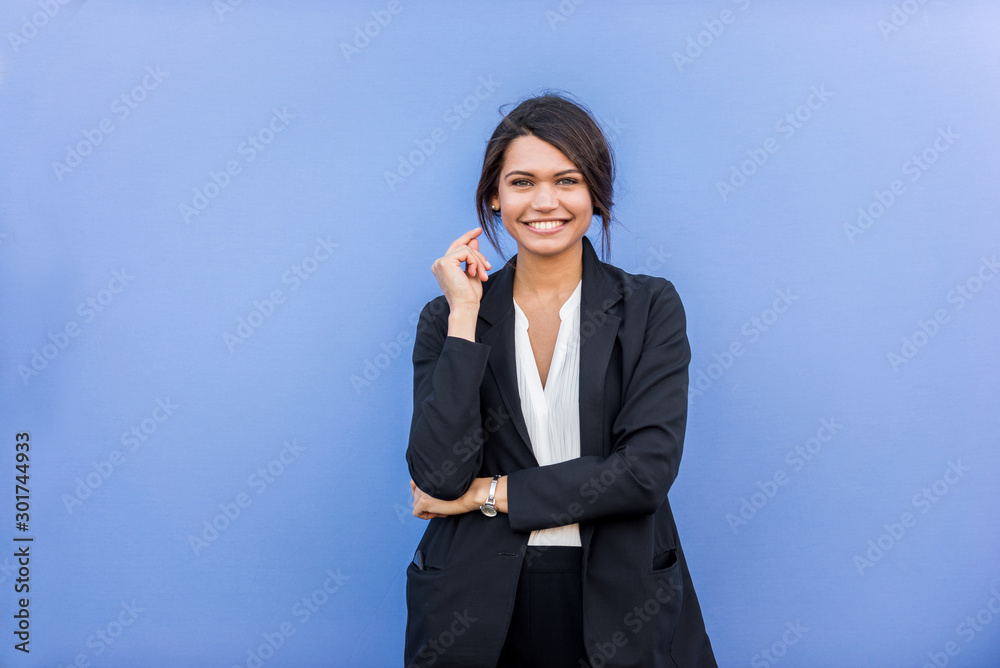 Fototapeta Businesswoman portrait