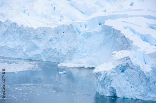 Fototapeta fonte du glacier antarctique obraz