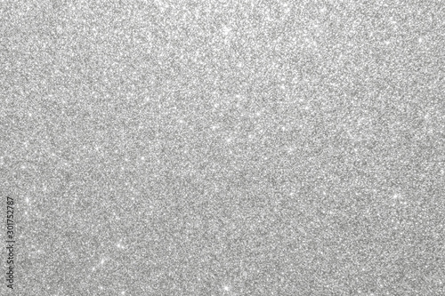 Silver glitter background texture white sparkling shiny wrapping paper for Chris Wallpaper Mural