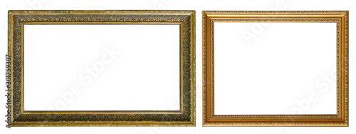 Frames paintings gold antique antiquity museum Canvas Print