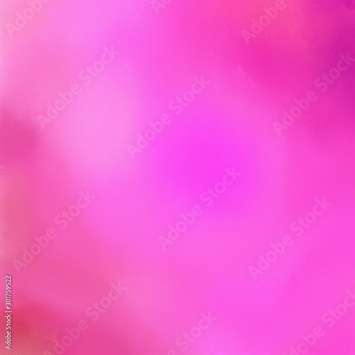 canvas print motiv - Eigens : square graphic format neon fuchsia, violet and pale violet red color painted background. broadly painted backdrop can be used as texture, background element or wallpaper