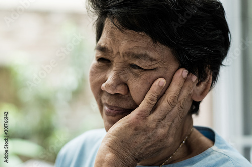 Fototapeta  TMD and TMJ healthcare concept: Temporomandibular Joint and Muscle Disorder