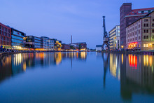 Panorama Auf Den Hafen Der Sta...