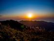 【静岡県伊豆半島】伊豆山稜線歩道からの夕景【秋・だるま山周辺】