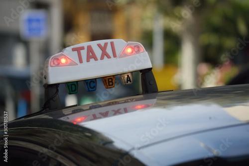 Obraz taxi  taksowka-we-francji