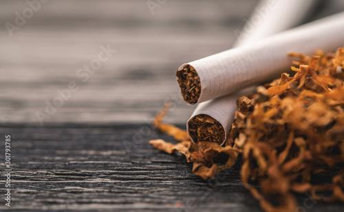 Fotografia cigarettes and tobacco