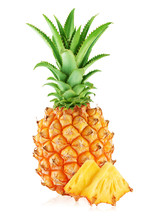 One Whole Pineapple And Two Sl...