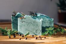 Seasonal Pine Handmade Soap