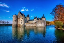 Famous Medieval Castle Sully S...