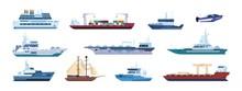 Flat Boats. Ocean Sailboats Sh...