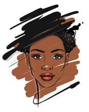 Black African American Woman P...