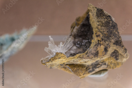 Photo Little part of mineral, aragonite
