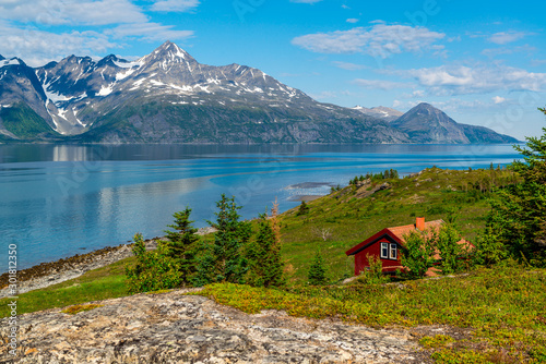 Foto op Canvas Noord Europa Beautiful view of the fjord in Norway