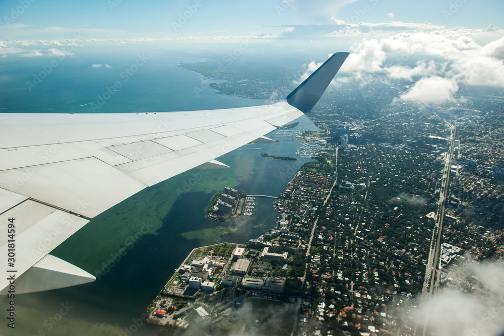 Fototapety, obrazy: Miami beach serial view