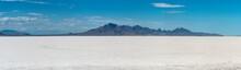 Bonneville Salt Flats Utah Surreal Landscape