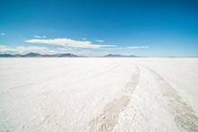 Bonneville Salt Flats Utah Sur...