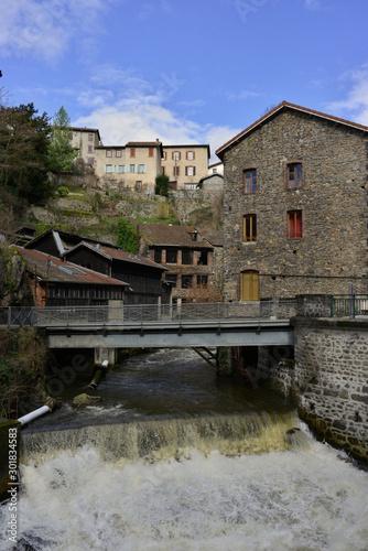 Photo Au creux de l'enfer dan les forges de Thiers, Puy-de-Dôme en Auvergne-Rhône-Alpe