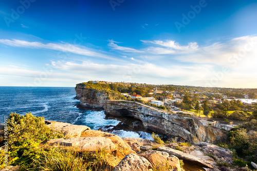 Watsons Bay Gap Bluff close to Sydney, NSW, Australia Slika na platnu