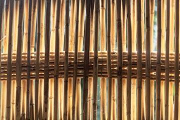 Rattan basket as background