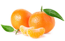Tangerines Or Clementines With...