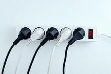Electric White Portable Socket...