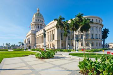 The recently restored Capitol of Havana