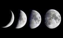 Progression Of The Moon