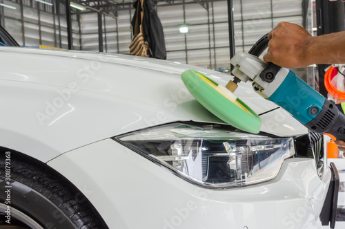 Obraz Auto Detailing Car - fototapety do salonu