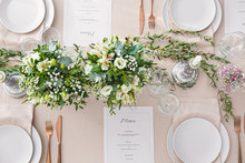 Beautiful Table Setting For We...