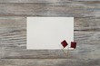 December 18 . independence day of Qatar. mini flags on wooden background with white paper sheet
