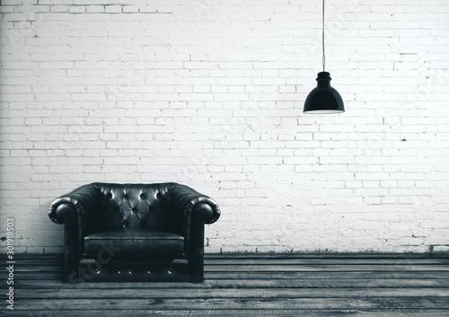 plakat Modern living room