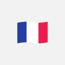 France Flag Colors Flat Icon, ...