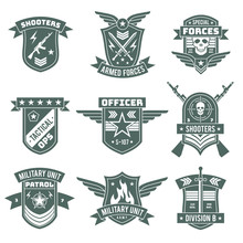 Military Badges. Army Patches,...