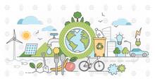Eco Friendly Outline Concept C...