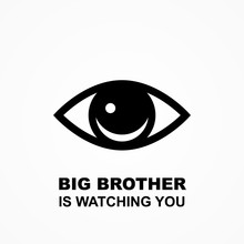 Big Brother Is Watching You Po...