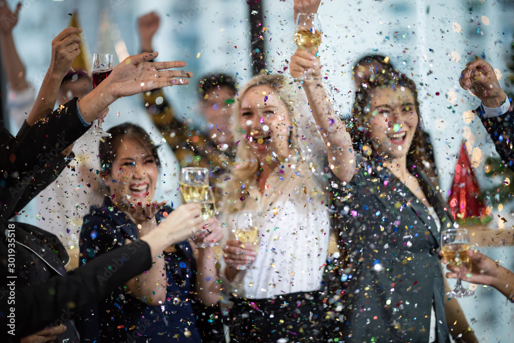 Fototapeta Business People Party Celebration Success Concept
