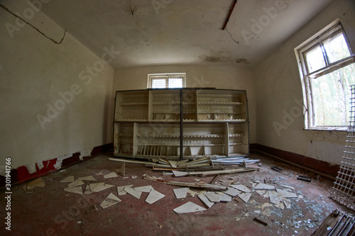 Photo  Communist abandoned soviet military base in east Germany - Secret town Russian c