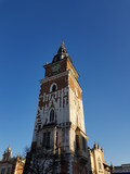 Fototapeta Londyn - Old town Cracow building