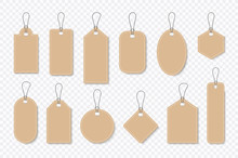 Set Of Sale Tags And Labels, T...
