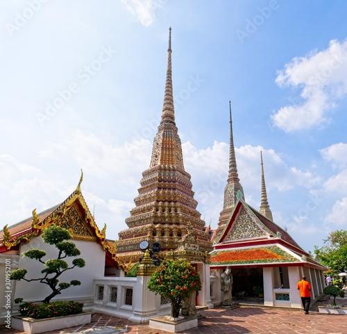 Bangkok Thailand Temples
