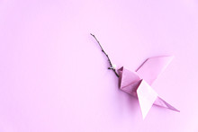Origami Bird With Brunch And L...