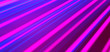 canvas print picture - Neon Background. Abstract lines. Laser beams. Stylish wallpaper. Neon Lights. Pink and Blue.