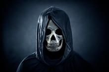 Grim Reaper In The Dark