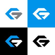 Initial Letter G Hexagon Logo ...