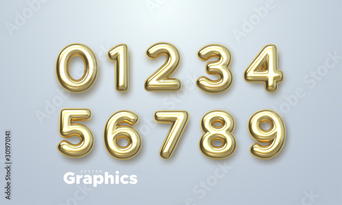 Fotomural Golden numbers set