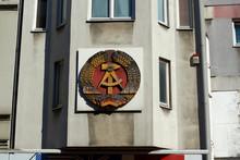 Old Soviet Street Sign Check P...