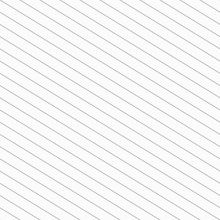 Lines Seamless Pattern Grey Background. Vector Illustration With Diagonal Strips Texture.