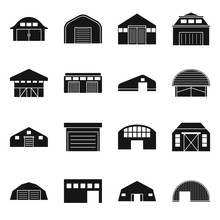 Vector Design Of Construction And Ranch Sign. Collection Of Construction And Building Stock Symbol For Web.