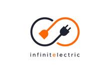 Infinity Electricity Logo Flat...