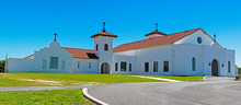 Most Holy Trinity Seminary, Spanish Mission Style Building North Of Tampa, FL, A Training Facility For Catholic Priests.